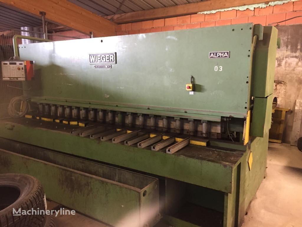Wieger 8 / 30 sonstige Metallbearbeitungsmaschine